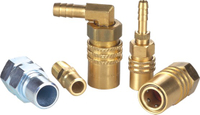 MOLD COOLANT-LINE QUICK COUPLINGS