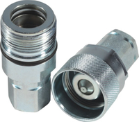 KCV THREAD TO CONNECT DOUBLE SHUT OFF COUPLINGS